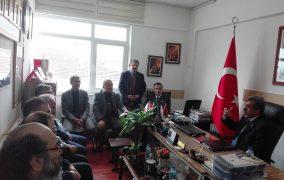 12.01.2018 tarihinde İyi Parti Keçiören İlçe Başkanı Sayın Avukat Güçlü ŞENEL ve Yönetim Ekibi şubemize ziyarette bulunmuşlardır.