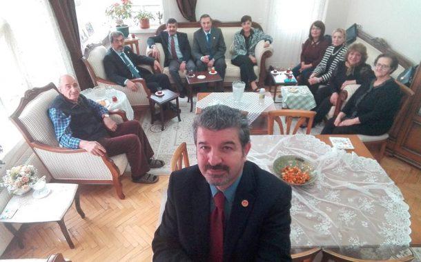 12.01.2018 tarihinde üyemiz (E) Astsb.Kd.Bçvş. Mustafa ATAKUL (1967-5)'a taziye ziyareti.