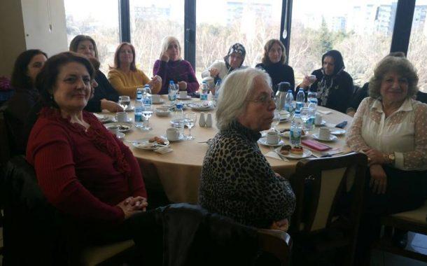 20.01.2018 Cumartesi günü Etiler Orduevi'nde TEMAD Genel Başkanlığı Kadın Kolları tarafından düzenlenen Tanışma Çayı'na iştirak edildi.