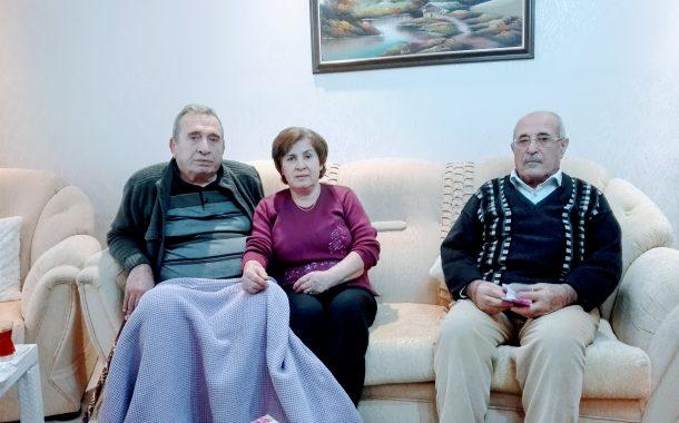 Üyemiz (E) Astsb.Kd.Bçvş. Garip COŞGUN (1963-22)'u Ziyaret (10.01.2018)