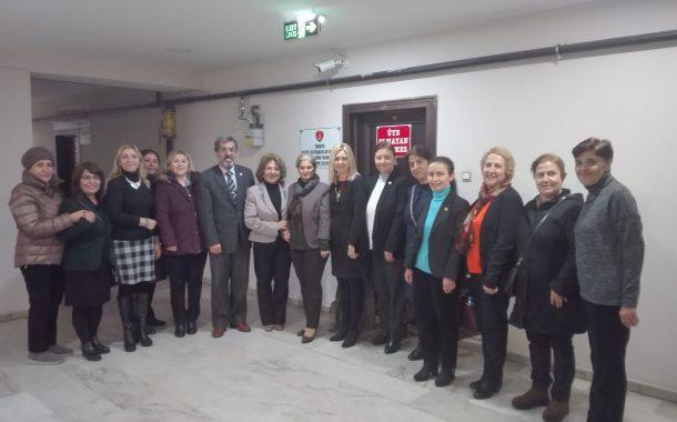 TEMAD Genel Merkez Yönetim Kurulu Üyesi sayın Zeynep ASLAN ile Kadın Kolları Başkanı Sayın Semra AKCAN ve beraberindeki Kadın Kolları Yönetiminin diğer üyelerinin şubemizi ziyaretleri.
