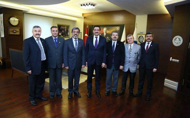 23.01.2018 tarihinde Yönetim Kurulu üyeleri olarak Keçiören Belediye Başkanımız Sayın Mustafa AK'a makamında ziyarette bulunduk.