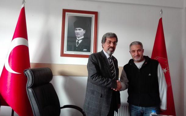 (E) Astsb.Kd.Bçvş. (1983-5) Metin ÇETİNKAYA'ya TEMAD Rozeti Takma Töreni (04.01.2018)