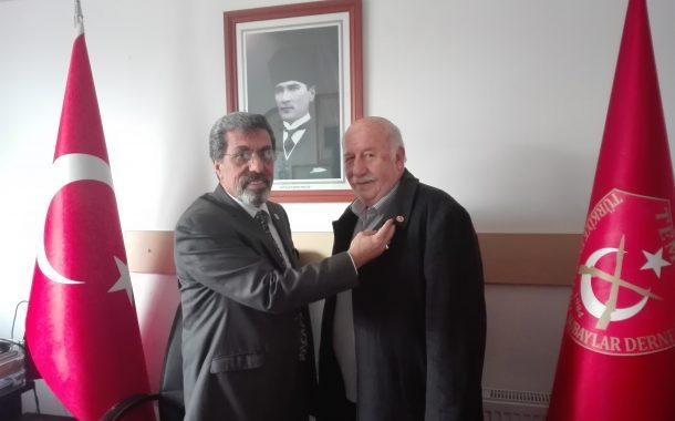 Şubemizin yeni üyeleri (E) Astsb.Kd.Bçvş. Ali Osman ŞEN ve Eşi Ayşe ŞEN'e TEMAD Rozeti takma töreni icra edilmiştir.
