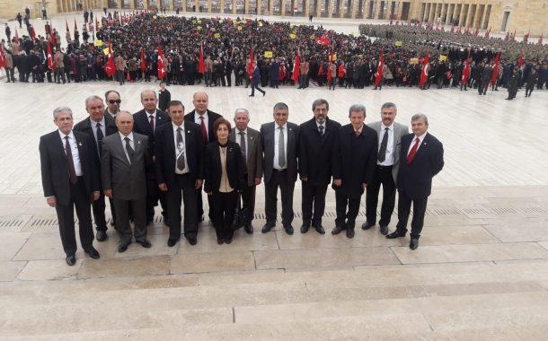 18 Mart 2018 tarihinde Çanakkale Zaferi'nin 103'ncü yıldönümünü kutlamak ve Şehitlerimizi anmak üzere Anıtkabir ve Cebeci Şehitliği Ziyaret edildi.