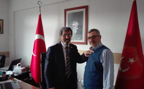 Bugün (06.03.2018), (E) Ord.Astsb.Kd.Bçvş. Salih Kadir ATAR (1983-83) şubemize üye olmuştur.
