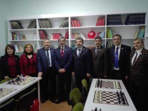 Afrin Şehidimiz Piyade Üsteğmen Oğuz Kağan USTA'nın isminin Kütüphaneye verilme töreni.