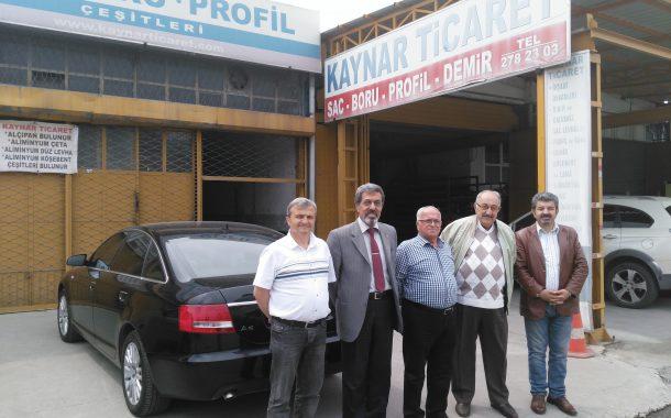 11.05 2018 tarihinde üyemiz Baki KAYNAR'ın İşyeri KAYNAR TİCARET ziyaret edilmiştir.