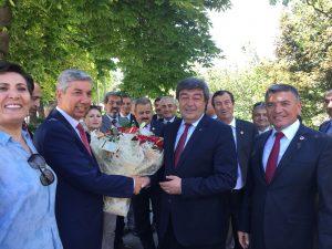 05.07.2018 tarihinde 24.06.2018 Genel seçimlerinde Kayseri'den Milletvekili seçilen Em.Hv.Kd.Bçvş.Dursun ATAŞ'ın TBMM'deki karşılama törenine iştirak edildi.