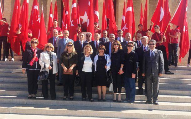 19 Eylül 2018 Gaziler Günü Anma Programı'na iştirak edilmiştir.