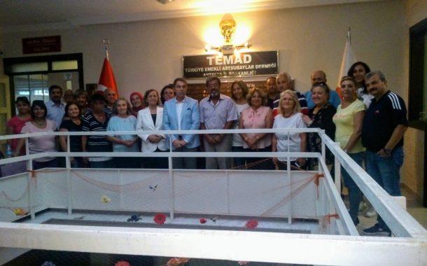 18 Ekim 2018 tarihinde  Yönetimimiz tarafından TEMAD Antalya İl Başkanlığı ziyaret edilmiştir.