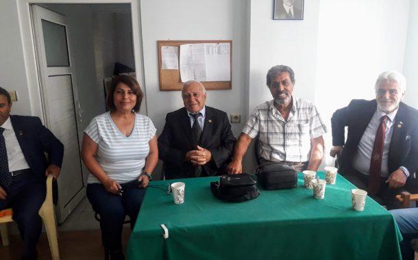28 Ekim 2018'de TEMAD Alanya Şube Başkanlığı ziyaret edilmiştir.