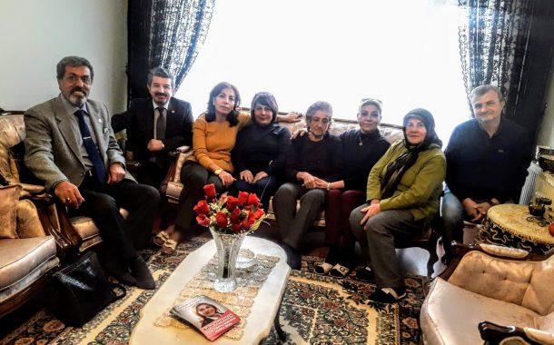 19.11.2018'de merhum üyemiz Abdullah ODABAŞI'nın evine taziye ziyaretinde bulunulmuştur.
