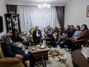 19.11.2018'de üyemiz Numan YILDIZ'ın evine Babasının vefatı nedeniyle taziye ziyaretinde bulunulmuştur.