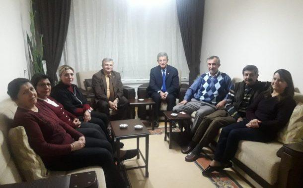 23.11.2018'de Üyemiz Alaettin İŞERİ'nin Evine Taziye Ziyaretinde bulunuldu.