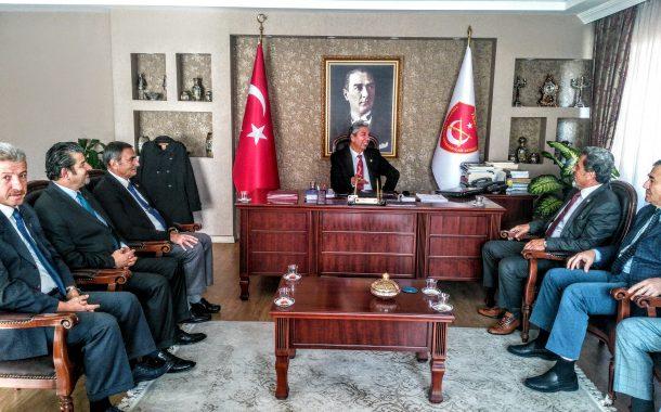14 Kasım 2018 tarihinde TEMAD Genel Başkanlığı Ziyaret edilmiştir.