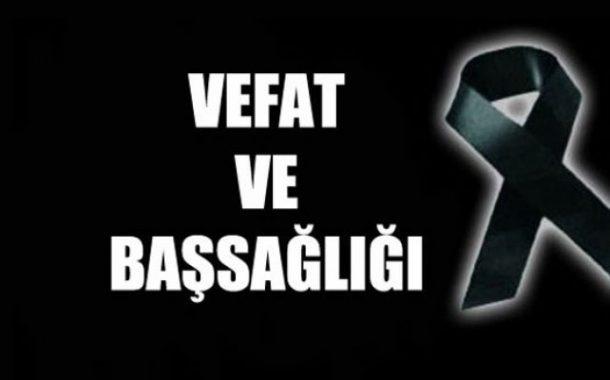Üyemiz Müşerref ÇELİK'in Ağabeyi Vefat Etmiş, Cenazesi 15.01.2018 tarihinde Amasya'da Toprağa Verilmiştir.