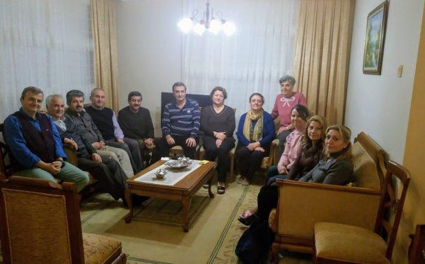 24.01.2019 tarihinde Eski Dnt.Krl.Üyemiz Cengiz TOKSOY'a Ablasının Vefatı Nedeniyle Taziye Ziyareti Gerçekleştirilmiştir.