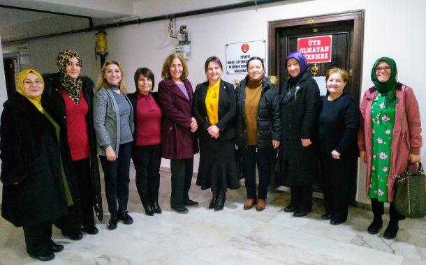 25.01.2019 Tarihinde AK Parti Ankara İl Başkanlığı Kadın Kolları Şubemizi Ziyaret Etmişlerdir.
