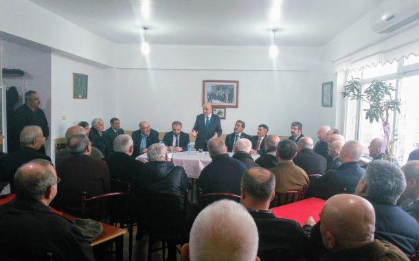 25.01.2019 Tarihinde Keçiören Belediye Başkan Adayı Turgut ALTINOK, Seçim Çalışmaları Kapsamında Şubemizi Ziyaret Etmiştir.