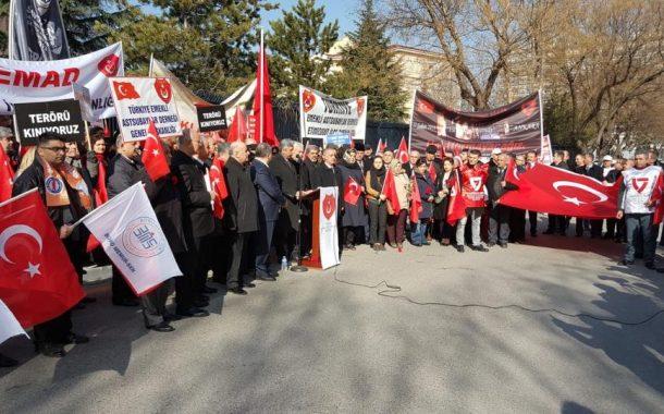 17 Şubat 2019'da Merasim Sokak Şehitlerini Anmak ve Terörü Kınamak İçin Basın Açıklaması Yapılmıştır.
