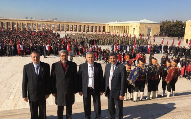 18 Mart 2019'da Çanakkale Zaferi'nin 104.Yıldönümünü Kutlama ve Şehitlerimizi Anma Programı Kapsamında Anıtkabir Ziyareti Gerçekleştirilmiştir.