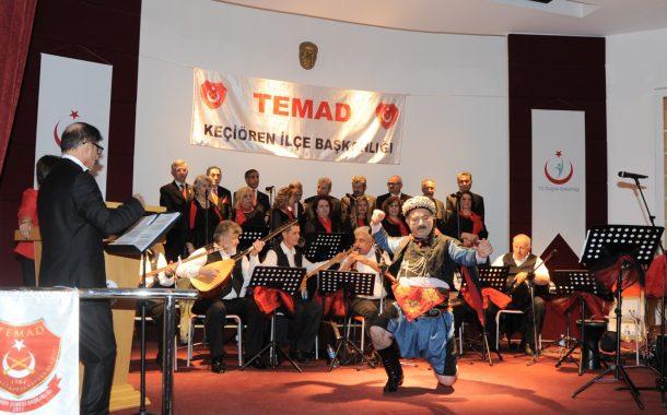 18 Mart Çanakkale Zaferi'nin 104'ncü Yıldönümünü Kutlama ve Çanakkale Şehitlerini Anma Programı Kapsamında 18 Mart 2019'da Gaziler Fizik Tedavi ve Rehabilitasyon Eğitim ve Araştırma Hastanesi'nde Koromuz Tarafından Bir Konser Verilmiştir.