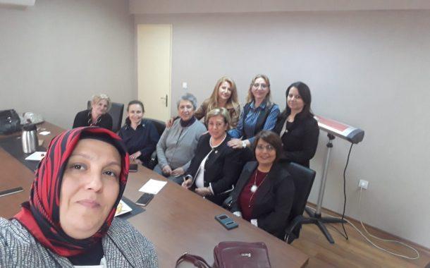 15 Nisan 2019'da Kadın Kollarımız TEMAD Genel Merkez Kadın Kolları'nı Ziyaret Etmiştir.