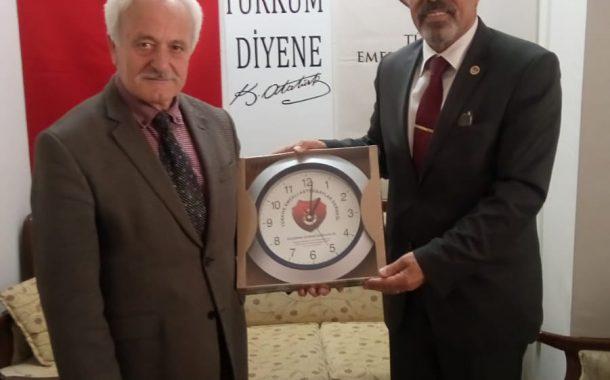 26.04.2019'da Yönetimimizin Eskişehir Gezisi Kapsamında TEMAD Odunpazarı İlçe Başkanlığı Ziyaret Edilmiştir.