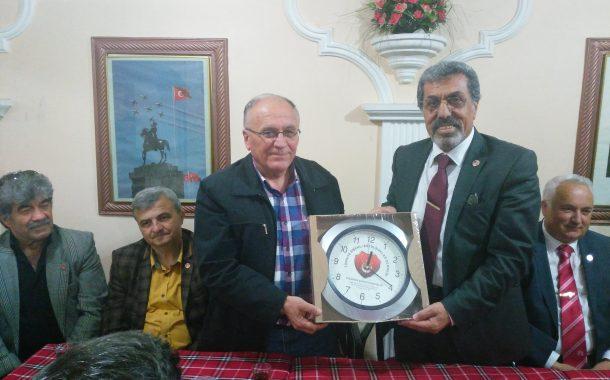26.04.2019'da Yönetimimizin Eskişehir Gezisi Kapsamında TEMAD Eskişehir İl Başkanlığı Ziyaret Edilmiştir.