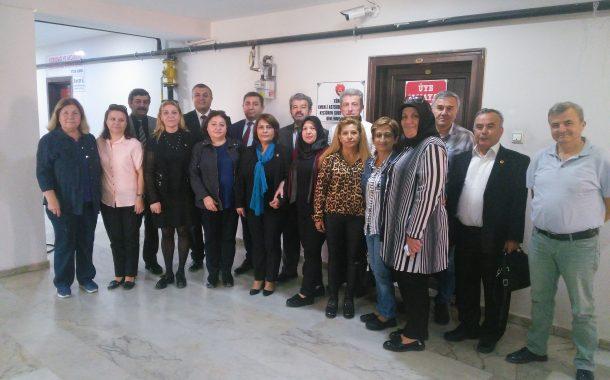 Merhum Bşk.Yrd.mız Yılmaz POYRAZ İçin TEMAD Çankaya Yönetimi 15 Ekim 2019'da Şubemize Taziye Ziyaretinde Bulunmuşlardır.