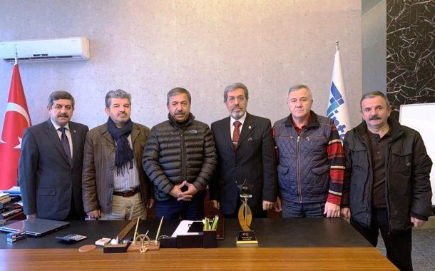 12 Aralık 2019 tarihinde değerli üyemiz ve sponsorumuz Selahattin USLU'yu işyerinde Yönetim olarak ziyaret ettik.
