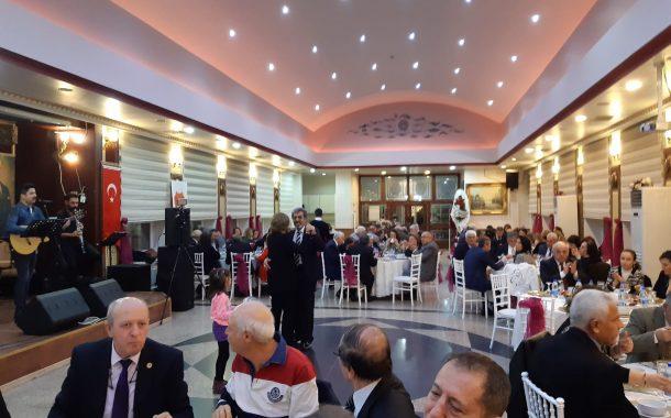 Şubemizin 8'nci Kuruluş Yıldönümü Yemeği 15 Aralık 2019 tarihinde Jandarma Genel Komutanlığı GEST Sosyal Tesisleri'nde İcra Edilmiştir.