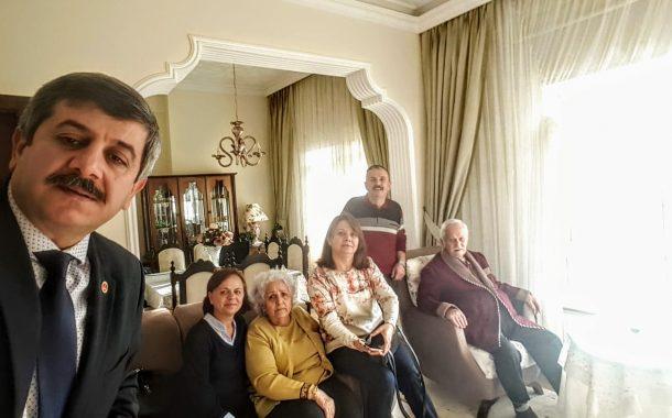 18.12.2019'da Üyemiz Em.J.Kd.Bçvş. Sıtkı MALKOÇ (1954-141)'a Yönetimimiz Tarafından Hasta Ziyareti Gerçekleştirilmiştir.