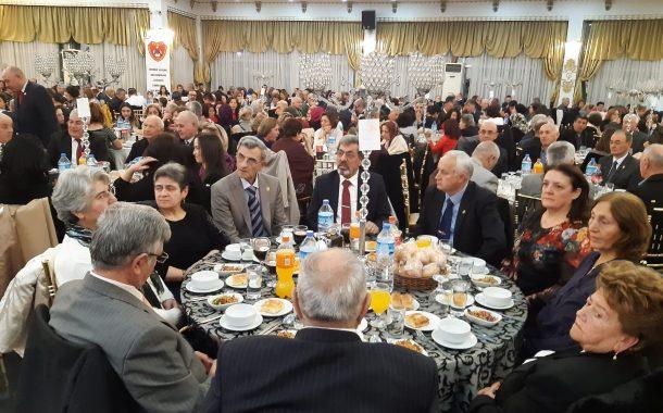 16 Ocak 2020'de Yönetim ve Üyelerimizle TEMAD Etimesgut İlçe  Başkanlığı'nın 8.Kuruluş Yıldönümü Yemeğine İştirak Edilmiştir.