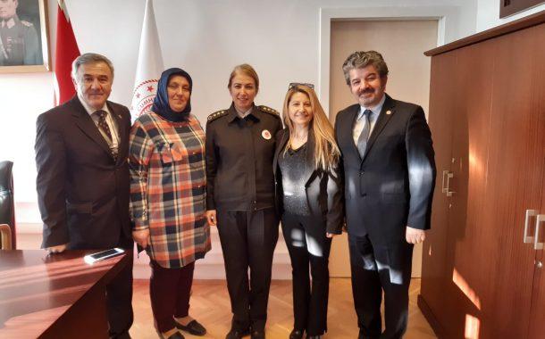 17 Şubat 2020 Pazartesi günü TSK Özel Bakım Merkezi Başkanı Uzm.Tbp.Alb. Pelin ÖZMEN, Yönetimimiz Tarafından Ziyaret Edilmiştir.