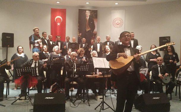 20.02.2020'de T.C. Ankara Valiliği 75. Yıl Huzurevi Yaşlı Bakım ve Rehabilitasyon Merkezi'nde Koromuz Tarafından Konser Verilmiştir.